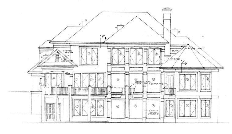 Traditional House Plan 85549 Rear Elevation
