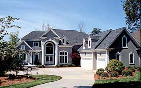 Traditional House Plan 85551 with 4 Beds, 4 Baths, 3 Car Garage Elevation