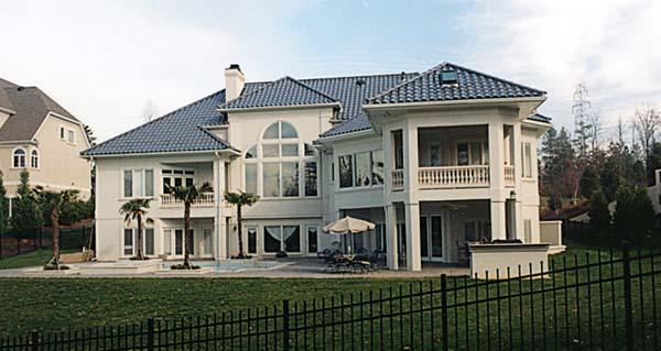 Mediterranean House Plan 85552 Rear Elevation