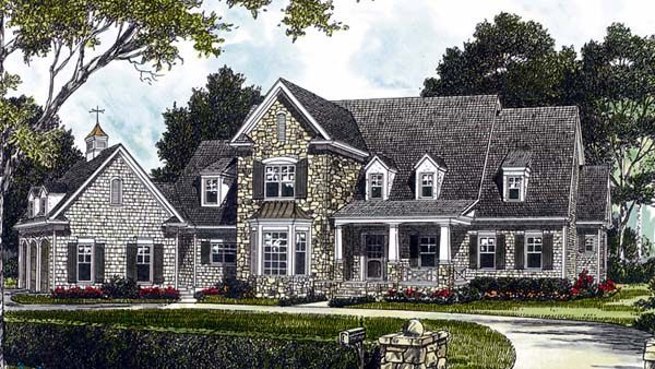 Cottage Craftsman House Plan 85553 Elevation