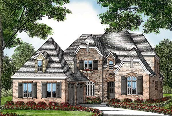 Country European House Plan 85555 Elevation