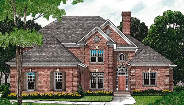 Traditional House Plan 85558 Elevation