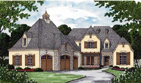 Country French Country House Plan 85561 Elevation
