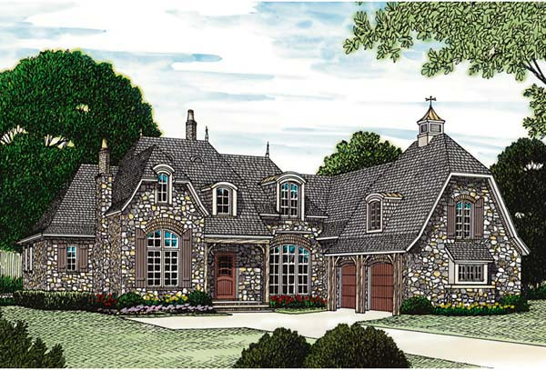 French Country House Plan 85562 Elevation