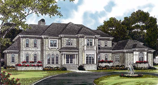 Traditional House Plan 85563 Elevation