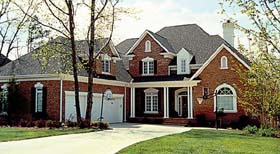 Cottage , Traditional House Plan 85567 with 6 Beds, 5 Baths, 3 Car Garage Elevation
