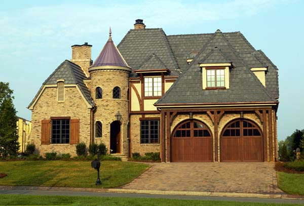 French Country Tudor House Plan 85569 Elevation