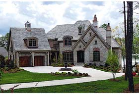 European , Country House Plan 85570 with 4 Beds, 6 Baths, 4 Car Garage Elevation