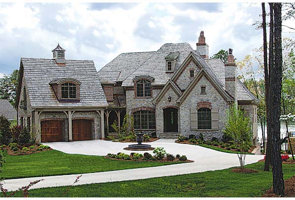 Country European House Plan 85570 Elevation
