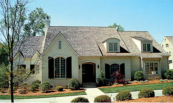 European House Plan 85572 Elevation