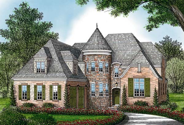 Country European House Plan 85577 Elevation