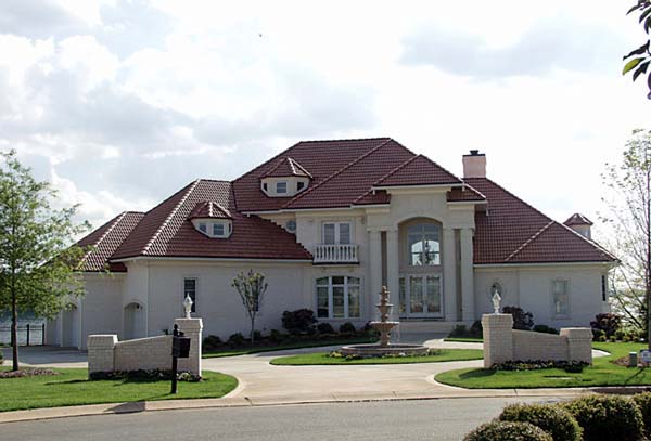 European , Mediterranean House Plan 85580 with 5 Beds, 6 Baths, 3 Car Garage Elevation