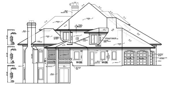 European, Mediterranean House Plan 85580 with 5 Beds, 6 Baths, 3 Car Garage Picture 1