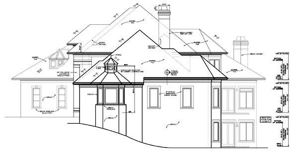 European, Mediterranean House Plan 85580 with 5 Beds, 6 Baths, 3 Car Garage Picture 2