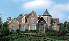 Country European House Plan 85584 Elevation