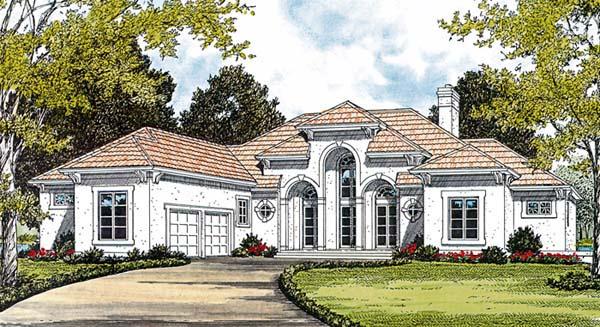 European Mediterranean House Plan 85585 Elevation
