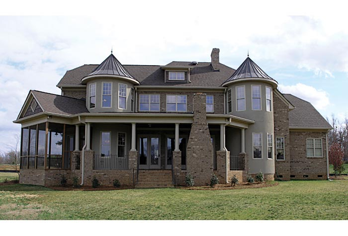 Cottage, Craftsman House Plan 85586 with 5 Beds, 7 Baths, 2 Car Garage Picture 5