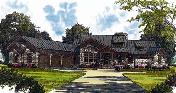 Cottage Craftsman House Plan 85588 Elevation