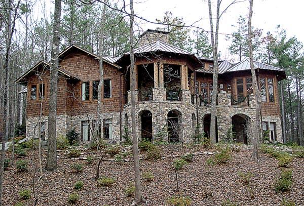 Cottage Craftsman House Plan 85588 Rear Elevation