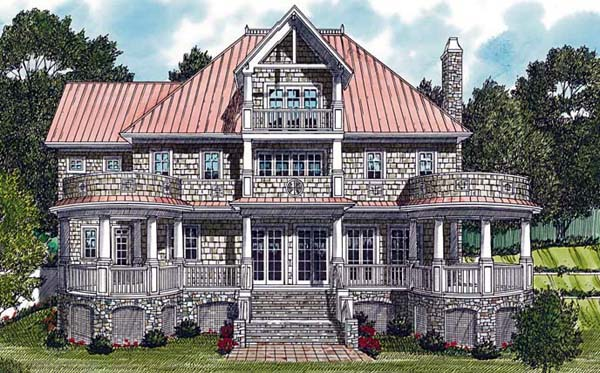Cottage Craftsman House Plan 85591 Elevation