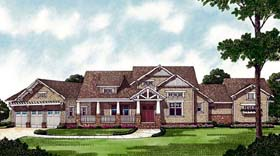 Cottage Craftsman House Plan 85593 Elevation