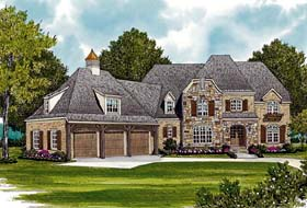 Country European House Plan 85598 Elevation