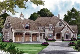 Country European House Plan 85601 Elevation