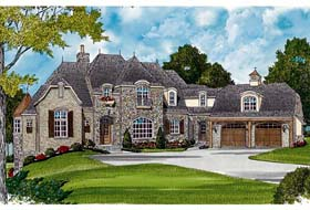Plan Number 85606 - 6465 Square Feet