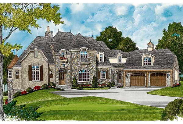 Country European House Plan 85606 Elevation