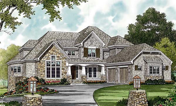 Cottage Craftsman House Plan 85617 Elevation