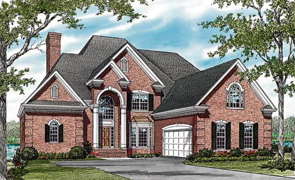 Traditional House Plan 85621 Elevation