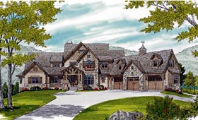 Cottage Craftsman House Plan 85622 Elevation