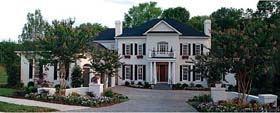 Colonial Traditional House Plan 85631 Elevation