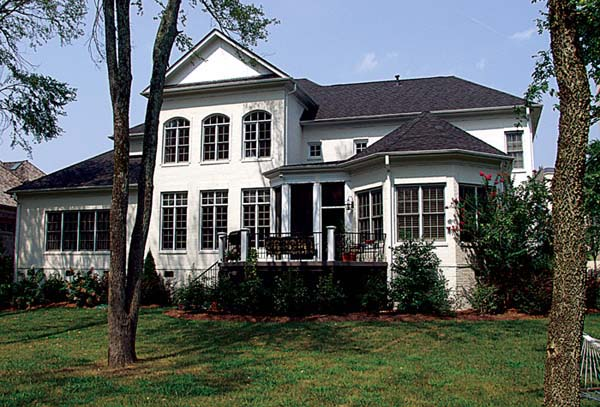 Colonial Traditional House Plan 85631 Rear Elevation