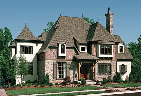 European House Plan 85632 Elevation