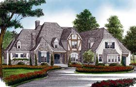 Country European House Plan 85634 Elevation