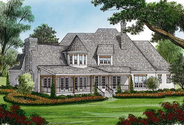 Country European House Plan 85634 Rear Elevation