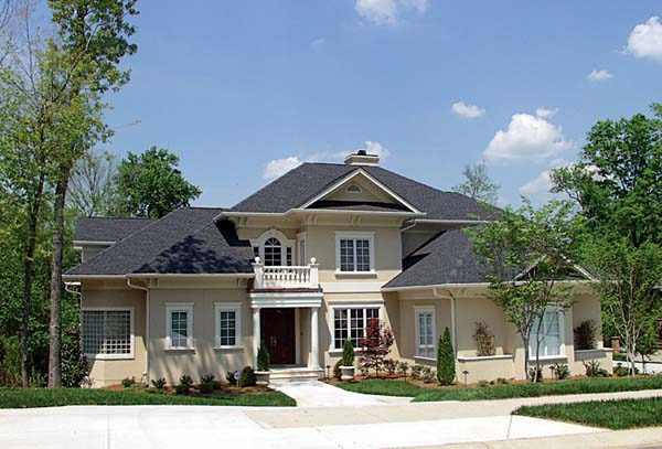 Traditional House Plan 85638 with 6 Beds, 9 Baths, 3 Car Garage Front Elevation