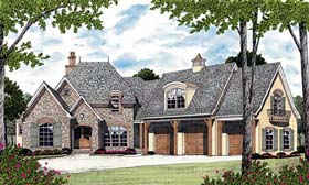 Country European House Plan 85639 Elevation