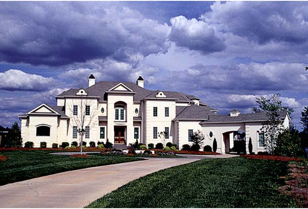European, Mediterranean House Plan 85640 with 5 Beds, 8 Baths, 3 Car Garage Elevation