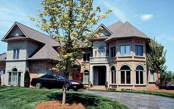 Traditional House Plan 85641 with 5 Beds, 6 Baths, 5 Car Garage Elevation