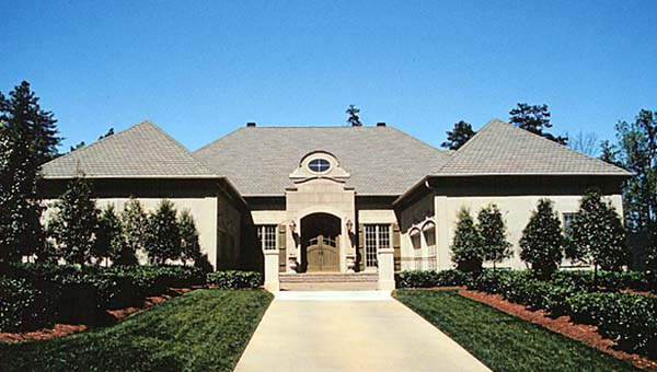 European, Mediterranean House Plan 85644 with 4 Beds, 5 Baths, 4 Car Garage Elevation