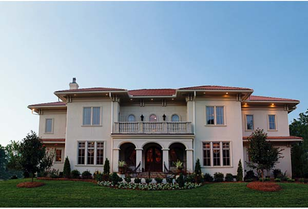 European, Mediterranean House Plan 85647 with 5 Beds, 6 Baths, 3 Car Garage Elevation
