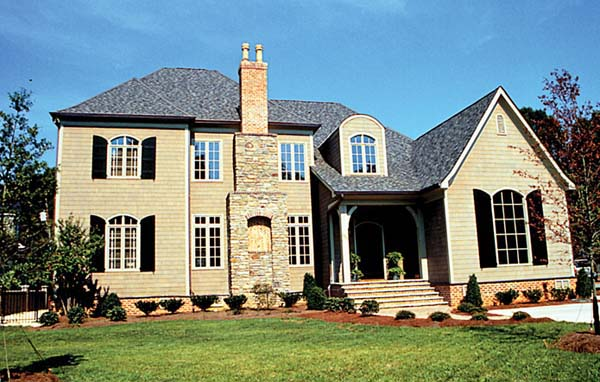 European House Plan 85648 Elevation