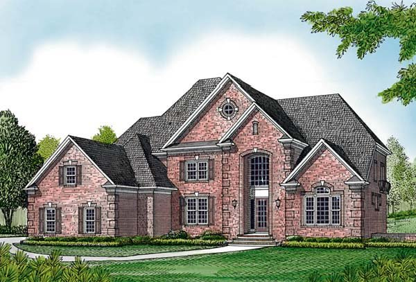 Traditional House Plan 85655 Elevation