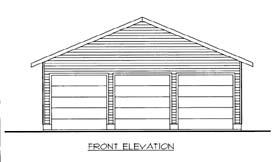 Garage Plan 85804