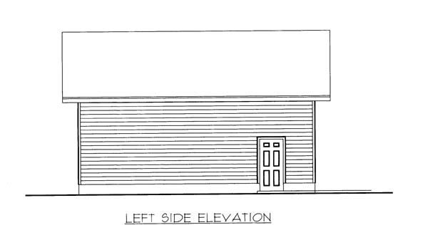 3 Car Garage Plan 85804 Picture 1