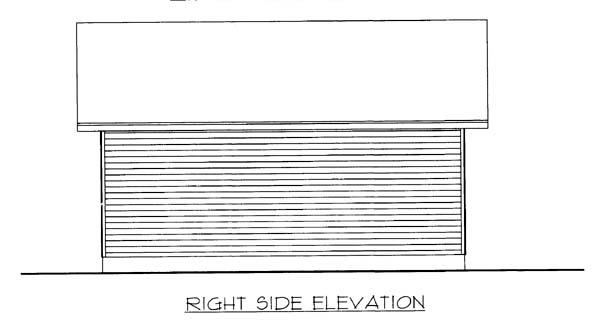 3 Car Garage Plan 85804 Picture 2