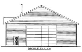 Garage Plan 85805