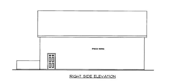 3 Car Garage Plan 85806 Picture 2